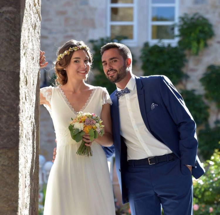 Costume de mariage pour Mathilde et Pierre Etienne 17/06/17