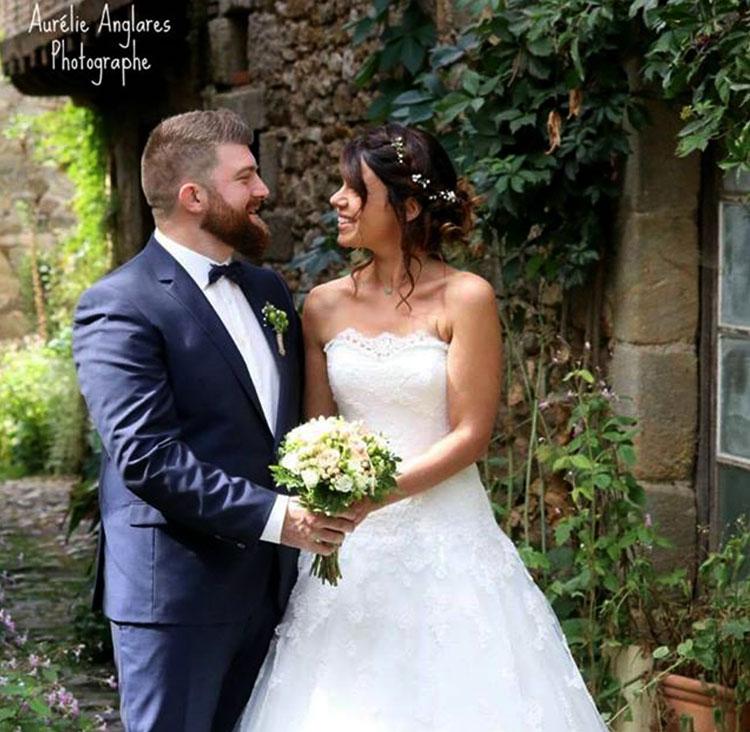 Costume de mariage pour Jessica et Cédric 16/09/17